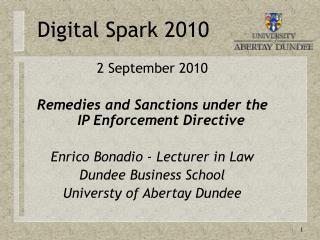 Digital Spark 2010