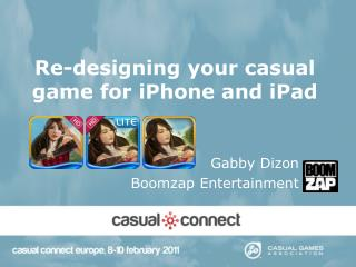 Re-designing your casual game for iPhone and iPad