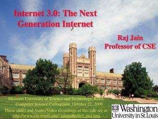 Internet 3.0: The Next Generation Internet