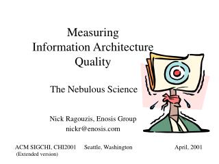 Measuring  Information Architecture  Quality