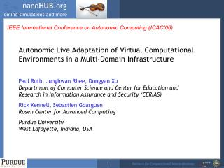 IEEE International Conference on Autonomic Computing (ICAC'06)