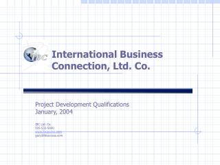 International Business Connection, Ltd. Co.