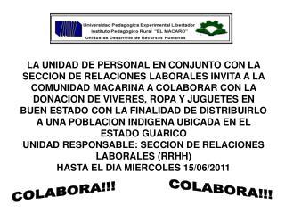 COLABORA!!!