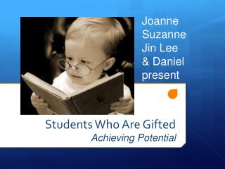 Students Who Are Gifted