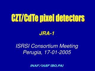 CZT/CdTe pixel detectors