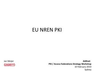 EU NREN PKI