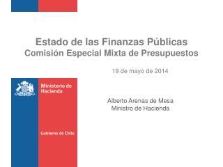 Estado de las Finanzas Públicas Comisión Especial Mixta de Presupuestos