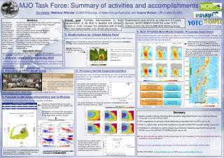 6. MJO-TF/GASS Multi-Model Diabatic Processes Experiment