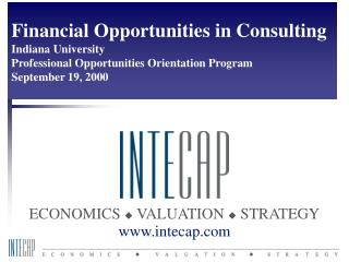 Introduction to financial consulting