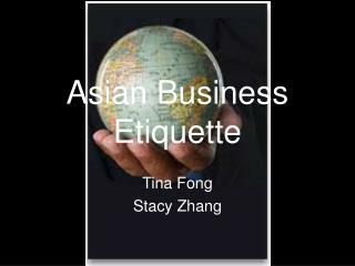 Asian Business Etiquette