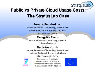 Ioannis Konstantinou Greek Research & Technology Network and