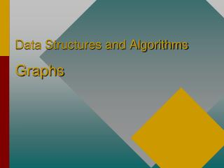 Data Structures and Algorithms  Graphs