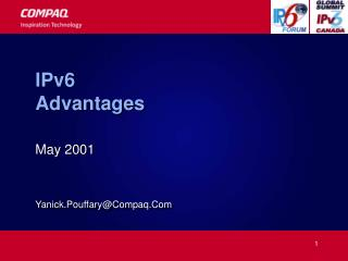 IPv6 Advantages