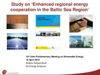 Study on 'Enhanced regional energy cooperation in the Baltic Sea Region'