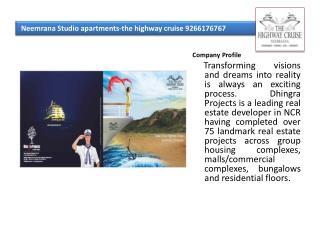 Neemrana Studio apartments-the highway cruise 9266176767