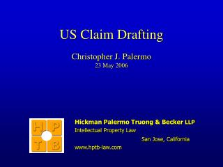 US Claim Drafting Christopher J. Palermo 23 May 2006
