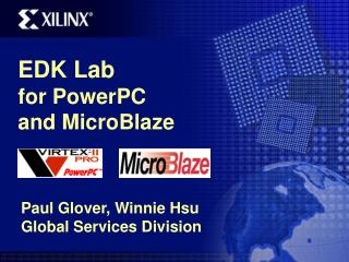 EDK Lab  for PowerPC  and MicroBlaze