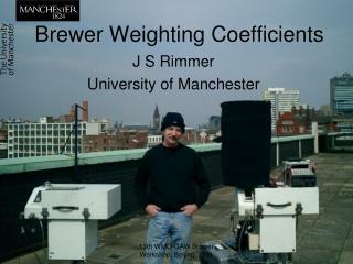 Brewer Weighting Coefficients