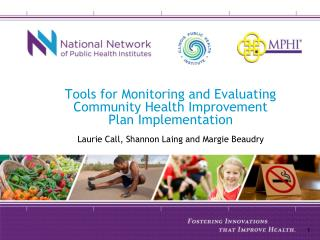 Tools for Monitoring and Evaluating Community Health Improvement Plan Implementation