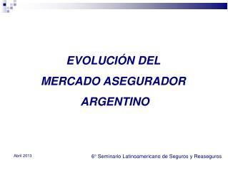 6° Seminario Latinoamericano de Seguros y Reaseguros