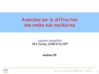 Laurent Schoeffel CEA Saclay, DSM/Irfu/SPP