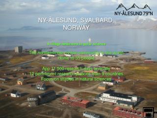 How Ny Alesund works ?