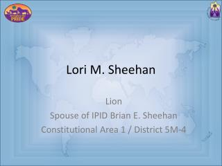 Lori M. Sheehan