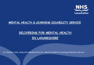 MENTAL HEALTH & LEARNING DISABILITY SERVICE