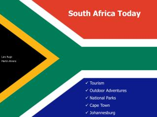 Tourism   Outdoor Adventures  National Parks  Cape Town  Johannesburg