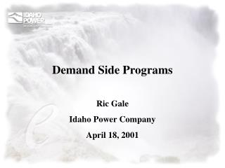 Demand Side Programs