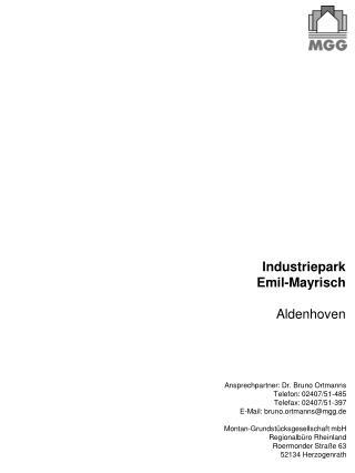 Industriepark  Emil-Mayrisch Aldenhoven