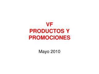 VF  PRODUCTOS Y PROMOCIONES