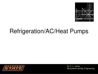 Refrigeration/AC/Heat Pumps