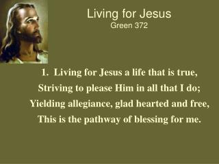 Living for Jesus Green 372