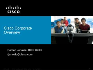 Cisco Corporate Overview