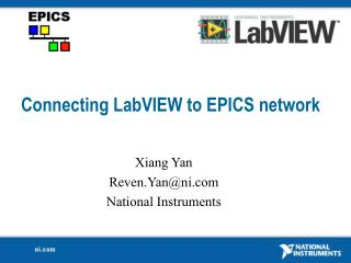 Connecting LabVIEW to EPICS network