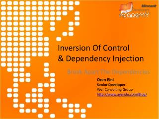 Inversion Of Control & Dependency Injection