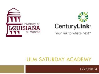 ULM Saturday Academy