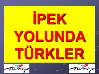 İPEK YOLUNDA TÜRKLER