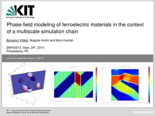 Phase-field modeling of ferroelectric materials in the context of a multiscale simulation chain