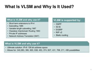 What Is VLSM and Why Is It Used?