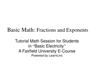 Chapter 2 Part 1 Multiply  Divide Whole Numbers
