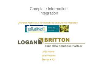 Complete Information Integration