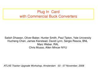 Satish Dhawan, Oliver Baker, Hunter Smith, Paul Tipton, Yale University