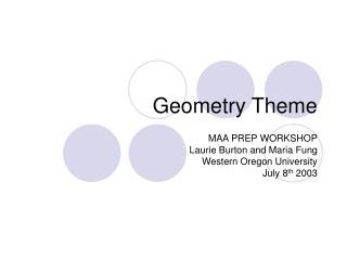 Geometry Theme