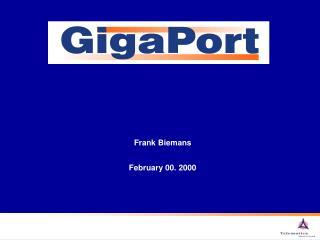 Frank Biemans February 00. 2000