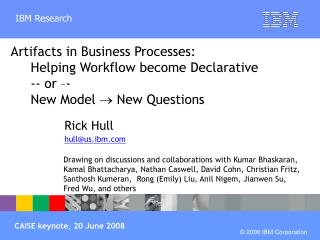 Rick Hull hull@us.ibm