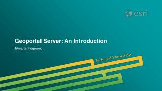 Geoportal Server: An Introduction