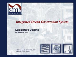 Integrated Ocean Observation System