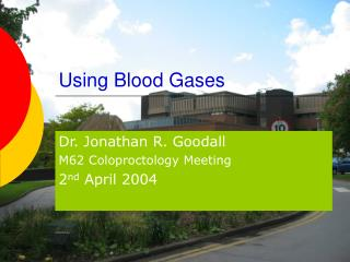 Using Blood Gases
